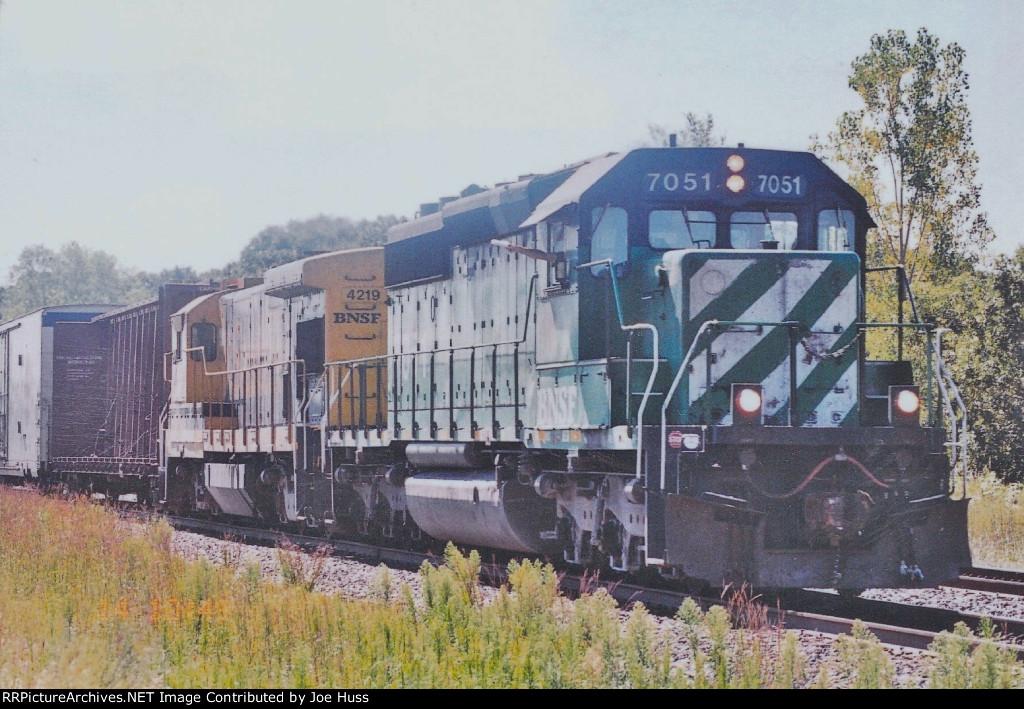 BNSF 7051 West