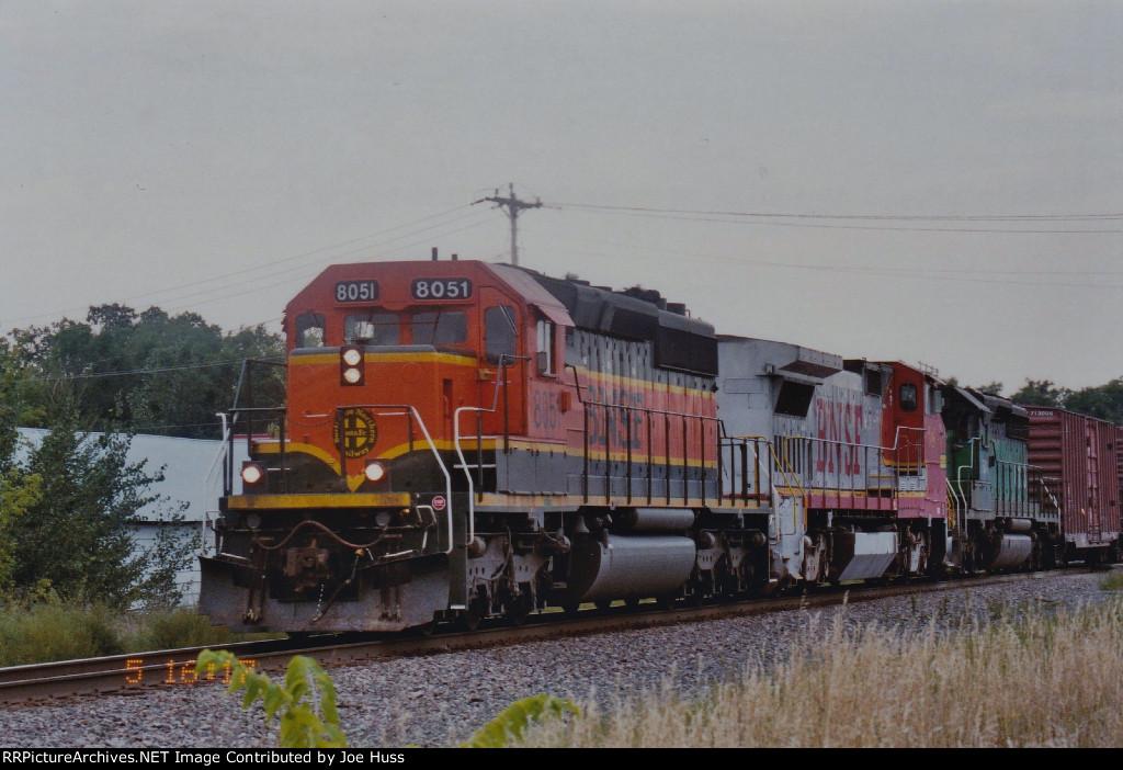 BNSF 8051 East