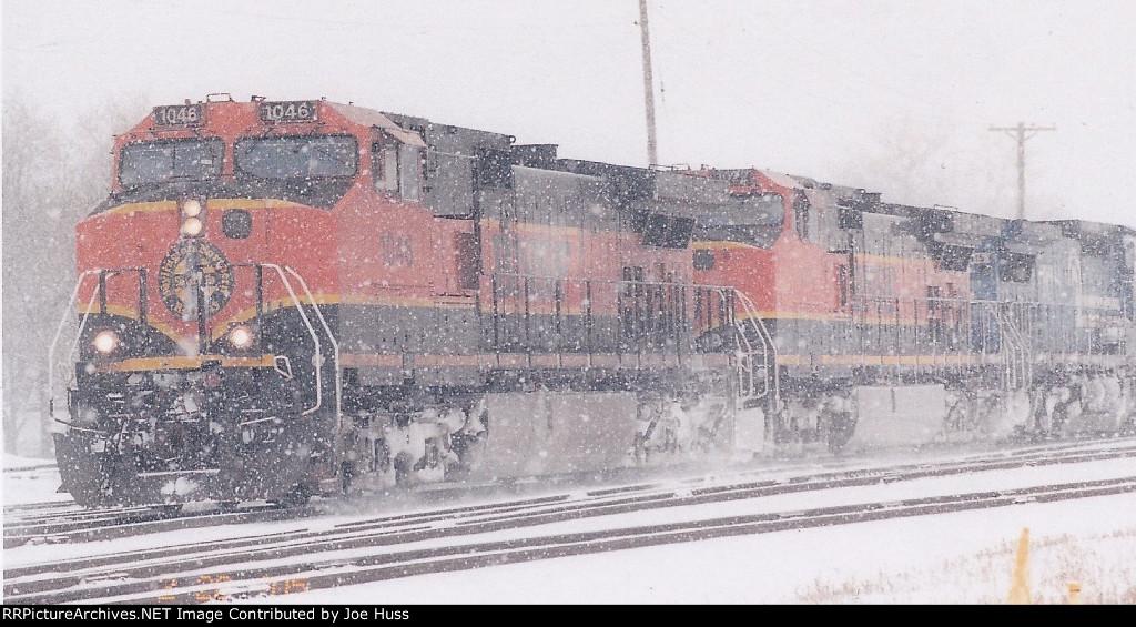 BNSF 1046 West