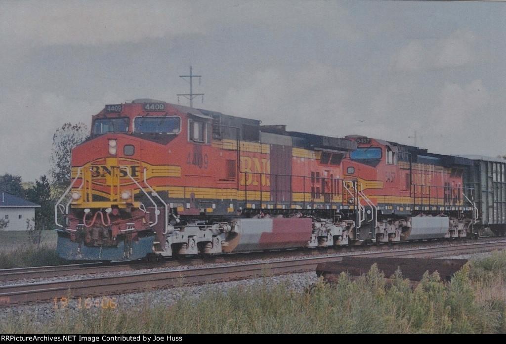 BNSF 4409 West