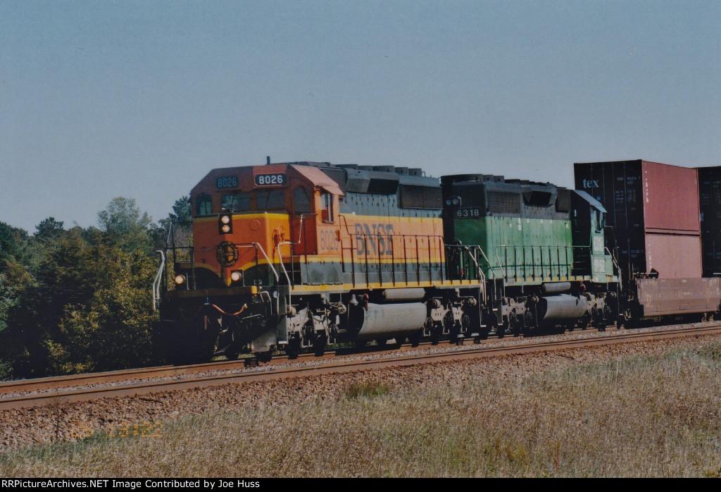 BNSF 8026 West