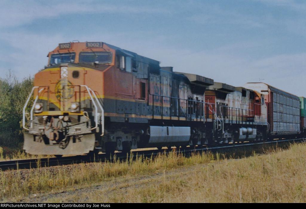 BNSF 1002 East