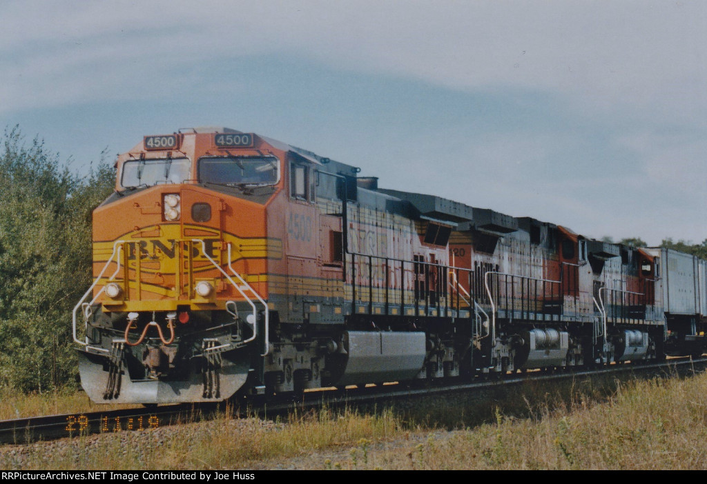 BNSF 4500 East