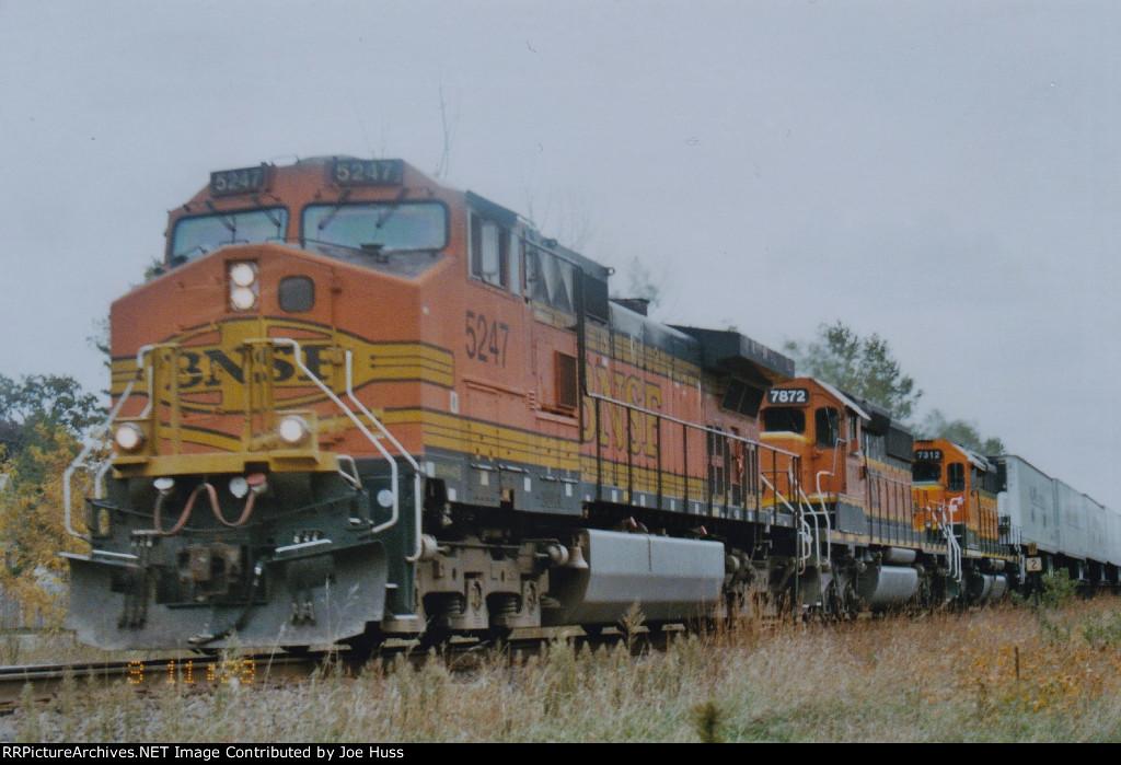 BNSF 5247 West