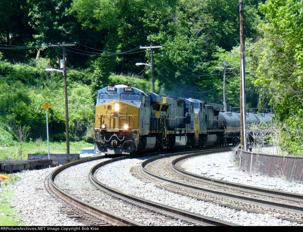 Eastbound freight at 1:11 p.m.
