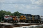 CSX 7310 and 7726 are leaving