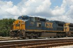 CSX 7310 & 7726 with a southbound mixed freight