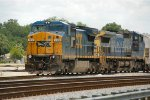 CSX 7310 & 7726 are dropping off several cars for local delivery