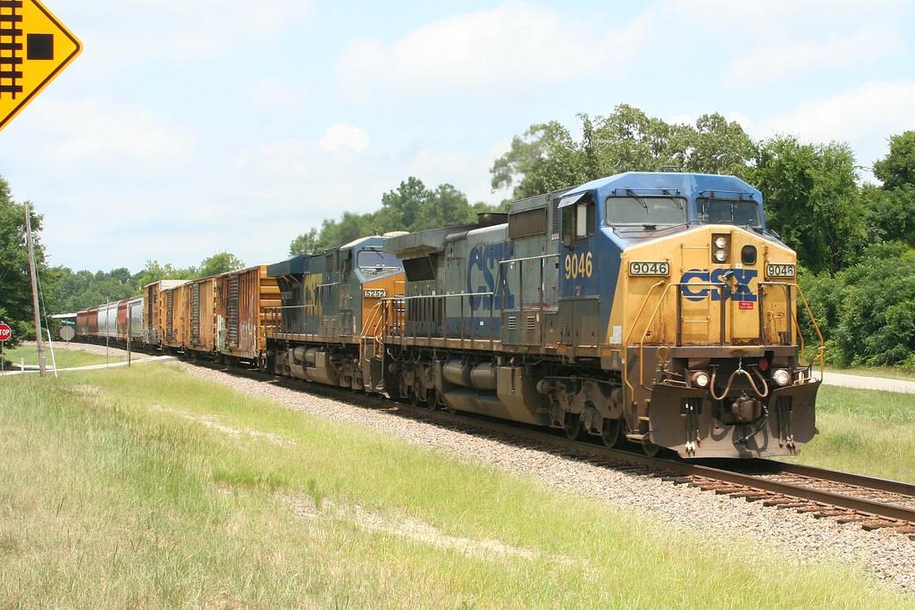 CSX Augusta bound freight