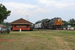 CSX WB freight by the SAL depot