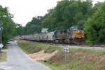 CSX EB grain train