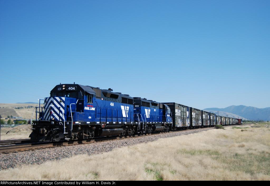 Montana Rail Links 4th Sub