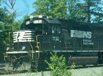 NS 7132 Sitting At The Durham East Freight Yard