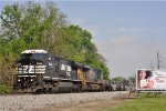 NS 8467 On CSX K 525 Eastbound