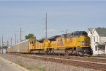 UP 8823 On CSX Q 243 Southbound
