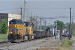 UP 5591 On CSX Q 501 Eastbound