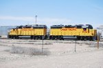 UP 1534 Point Switching Cars West Of Fruita