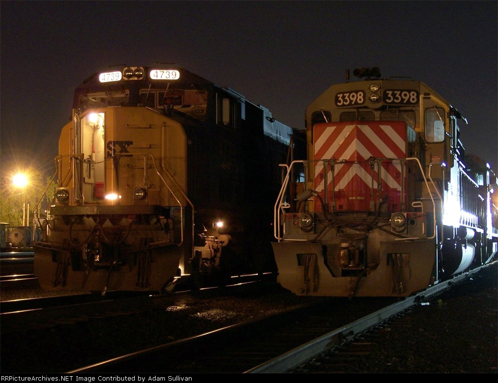 CSX and CSO at West Springfield