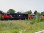 CN 5478 and GTW 4909