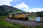 "UP 5368 Loaded Coal Entering ""Big Ten Curve"" on the UP Moffat Tunnel Sub"