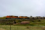 BNSF 8409 9978 Coal Loads - Pushers