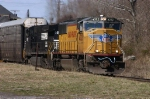 "Union Pacific ""Wings"" SD70M On The Point of NS 212 @ 1025 hrs."