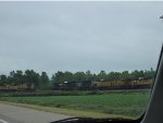 "Locomotives sit at UP's Marion Intermodal Terminal ""Enginehouse"""