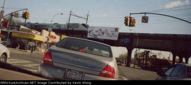 Acela Express in Long Island City