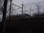 Acela HHP8 654 pulls Regional #172 towards Boston