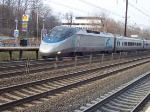 Acela Express #2221 entering Metropark