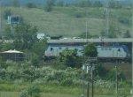 Amtrak ACS-64 618 leads Northeast Regional 93 across the Meadowlands