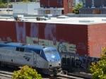 AMTK 141 pulls Capitol train 535