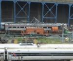 Amtrak caboose 14030