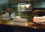 Service counter and kitchen in Diner #8531