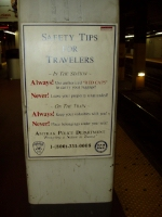 Amtrak Safety Tips