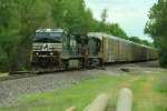 NS 9901 Leads Ns 239 west through Saint peters.