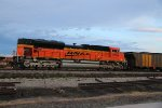 BNSF 8798 Dpu on a coal load.