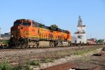 BNSF 4699 Leads a empty Spine train up the Hannibal Sub.
