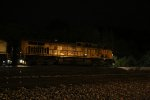 UP 5730 Rolls a loaded coal drag into the night.