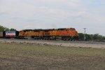 BNSF 5641 Leads a coal drag down the Hannibal Sub,