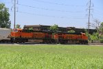 BNSF 6657 and BNSF 6533 sit on the H-DYTGAL.
