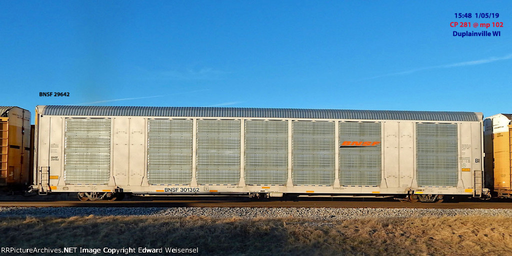 BNSF ordered hundreds of these in white and more in orange