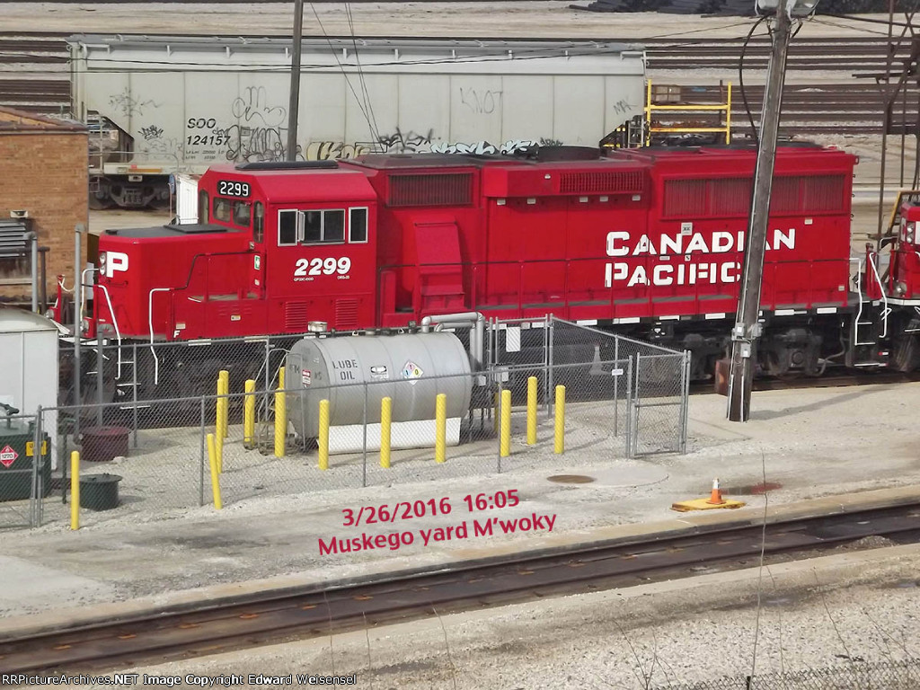 CP 2299 at the oil station 2221