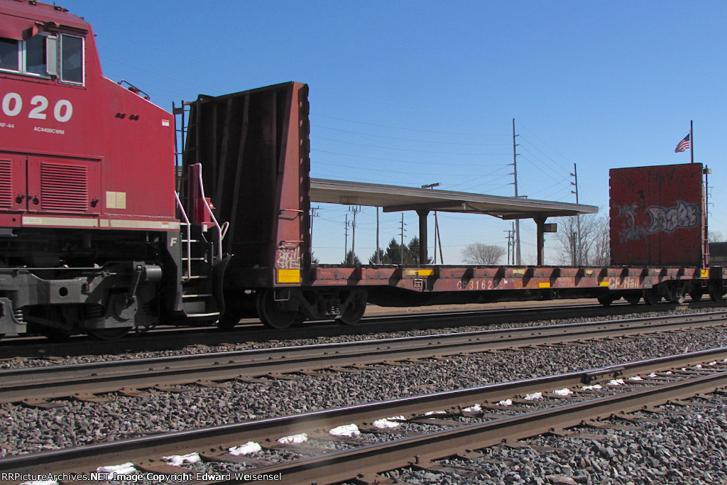 """An """"extra day"""" transfer headed into Clearing yard"""
