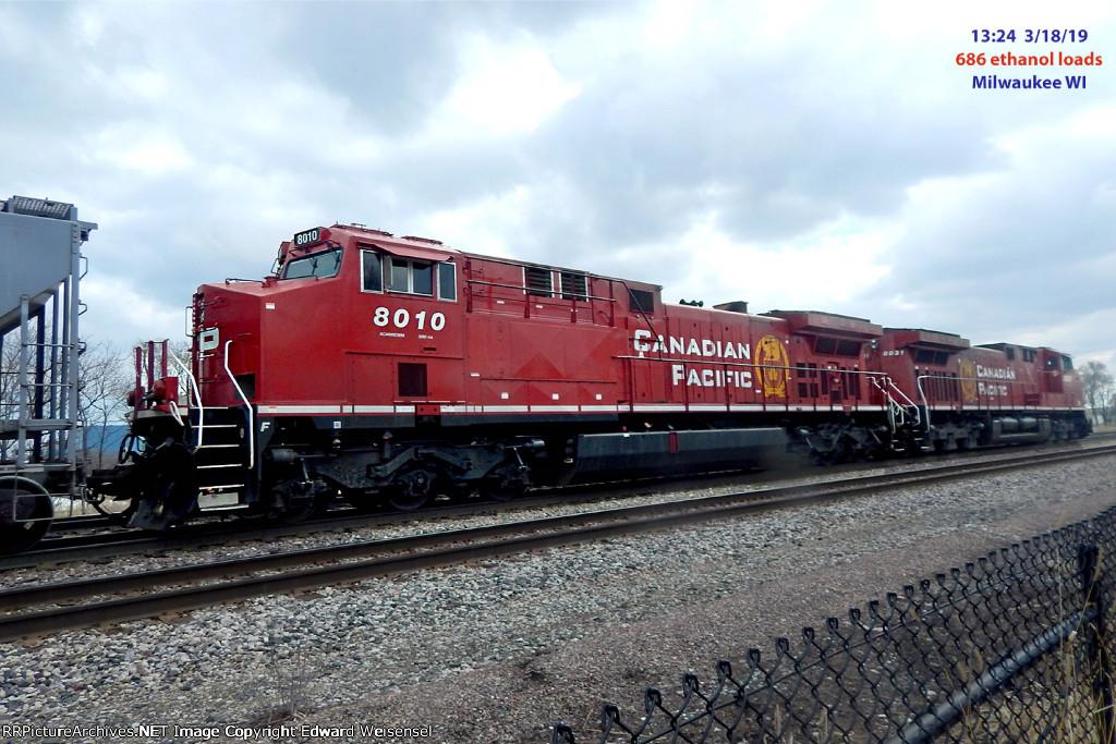 CP 680 ethanol loads
