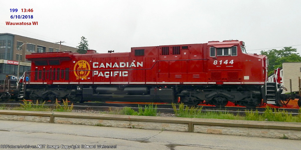 Mid-train on intermodal 199