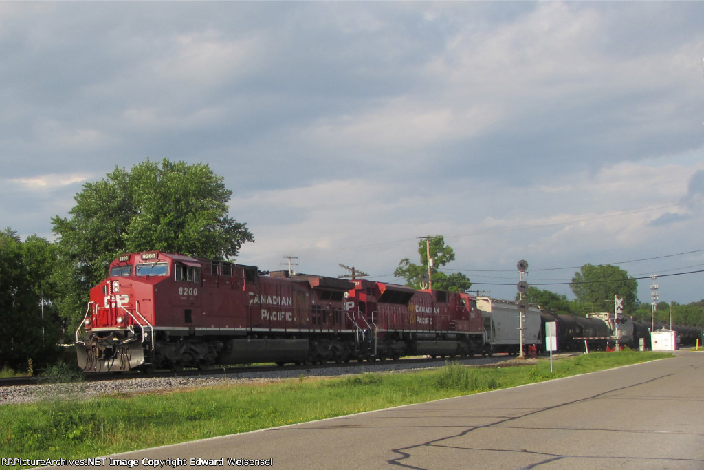 287 rolls thru with both a GE and EMD rebuild