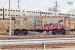 Teamed with Ohio locomotive crane x262043 and flat MP 15462