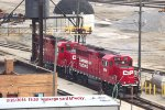 CP 2221 & 2299 snore on the ramp