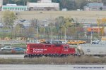 One of 3 aardvarks {2201 and 2309} working Muskego yard
